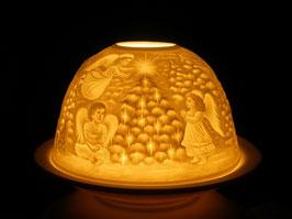 Porzellan - Windlicht Weihnachten