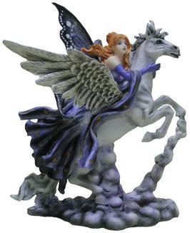 Elfe auf Pegasus