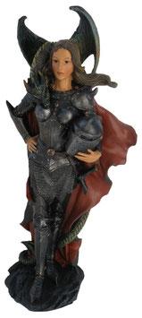 Fairy Myths-Elfe Kriegerin mit Drache