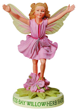 Flower Fairy auf Sockel Feuerkraut