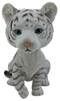 Wackelkopf - Tiger weiss