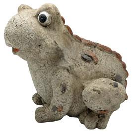 Gartenfigur-Frosch