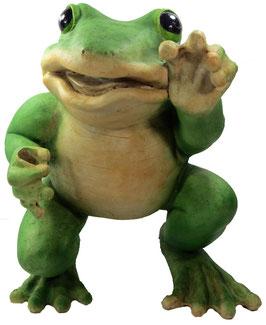 Frosch XXL stehend