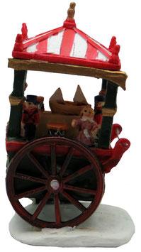Miniatur Spielwaren Verkaufswagen