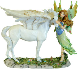 MystiCalls - Elfe mit Pegasus