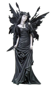 Fairy Myths-Elfe schwarz-weiss