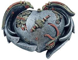 Steampunk-Herzflügel Schatulle