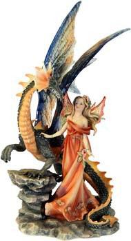"""MystiCalls - Elfe mit Drachen """"Magic Power"""""""
