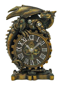 Steampunk-Drachen Uhr