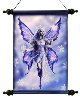 Roll-Bild Anne Stokes-Snow Fairy