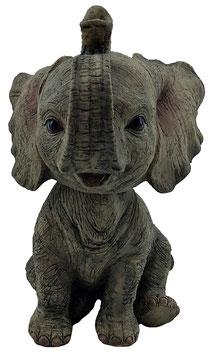 Wackelkopf - Elefant