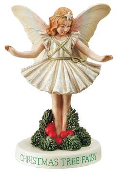 Flower Fairy auf Sockel Weihnacht