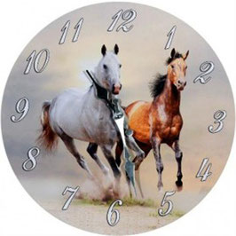 Uhr - Pferde