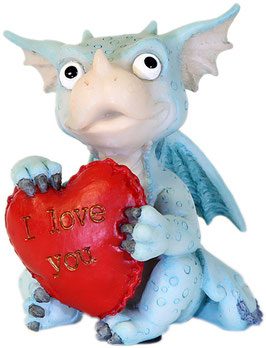 Funny Dragon - I Love you