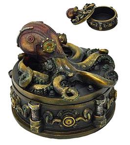 Steampunk-Tintenfisch Dose