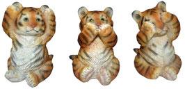 Tiger orange die drei Weisheiten