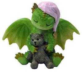 Drache grün mit Bär