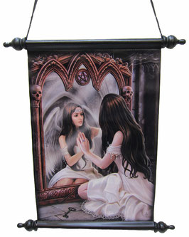 Roll-Bild Anne Stokes-Magic Mirror
