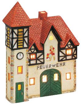 Porzellan Lichthaus Feuerwehr