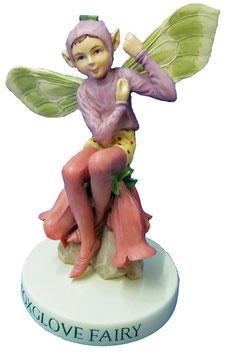 Flower Fairy auf Sockel Fingerhut