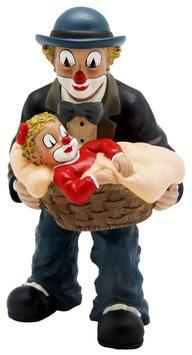 Gilde Clown - Vater mit Mädchen