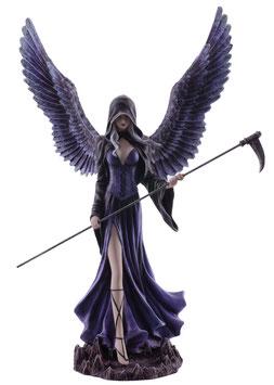 Engel stehend violett-schwarz