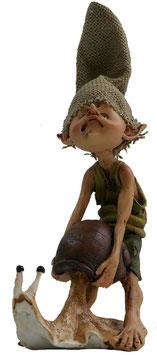 Pixie mit Schnecke