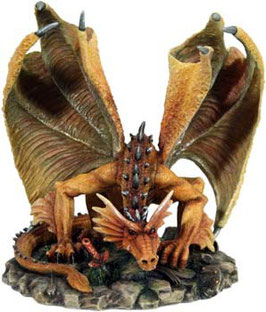 Dragony-Dostanne Drache braun