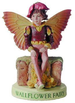 Flower Fairy auf Sockel Gold-Lack