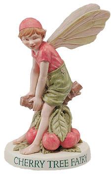 Flower Fairy auf Sockel Kirsche
