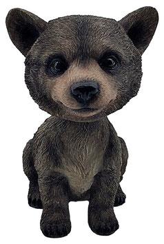 Wackelkopf - Bär braun