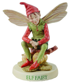 Flower Fairy auf Sockel  Elf