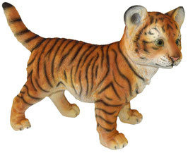 Tiger stehend orange
