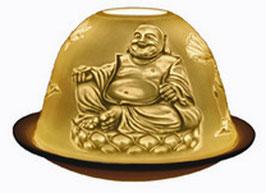 Porzellan - Windlicht Buddha