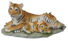 Tiger mit Jungem