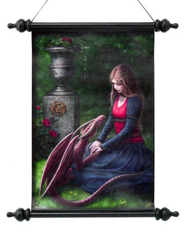 Roll-Bild Anne Stokes-Secret Garden