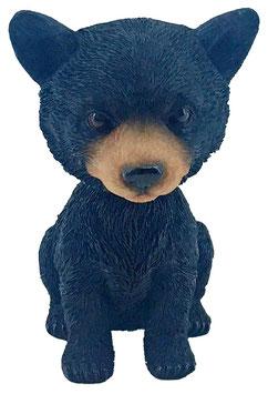 Wackelkopf - Bär schwarz