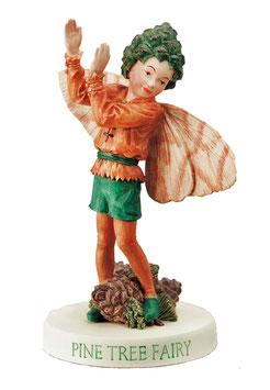 Flower Fairy auf Sockel Pinie