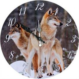 Uhr - Wölfe