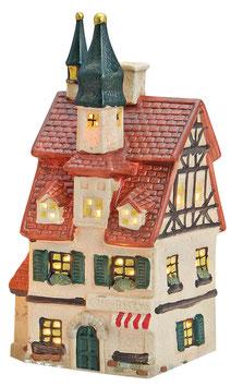 Porzellan Lichthaus Café-Bistro rotes Dach