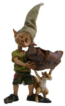 Pixie mit Eichhörnchen