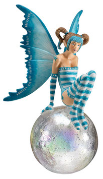 Amy Brown Fairy Diva-Bubble Rider VI