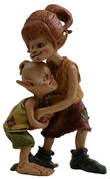 Pixie-Mädchen mit Kind