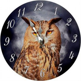 Uhr - Eule