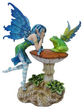 Amy Brown - Elfe mit Frosch