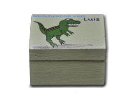 """Milchzahndose """"Dinosaurier grün"""""""