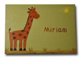 """Türschild """"Giraffe"""""""