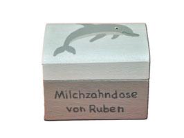 """Milchzahndose """"Delphin"""""""