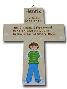 """Schutzengelkreuz """"Henrik"""""""