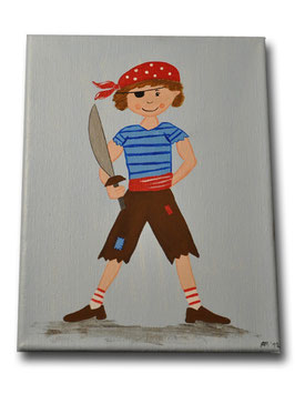 "Kinderzimmerbild ""Pirat"""